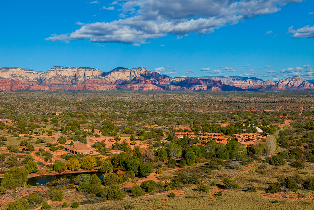 The ICF-approved Intensive Program is held at the Sedona Mago Resort in Sedona, Arizona